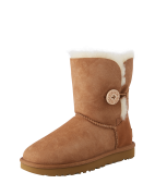 UGG, Dames Snowboots 'Bailey Button II', cognac