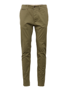 JACK & JONES, Heren Chino 'JJIMARCO JJENZO O NIGHT WW 420 NOOS', olijf...
