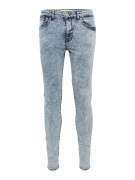NEW LOOK, Heren Jeans 'BRIGHT BLUE RIP SKINNY', blue denim