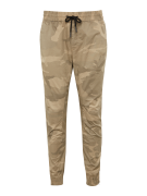 JACK & JONES, Heren Broek 'JJIVEGA JJBOB WW BEIGE (CAMO)', beige