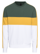 NEW LOOK, Heren Sweatshirt 'RP MJJ 16.02.18 SPORT BLOCK CREW', geel / ...