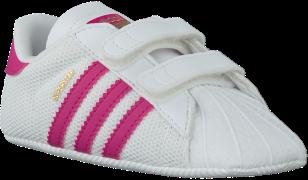 Adidas Chaussures bébé SUPERSTAR CRIB en blanc