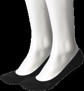 Tommy Hilfiger Chaussettes WOMEN REGULAR STEP en noir