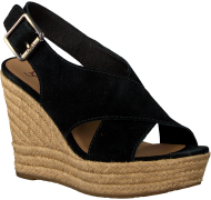 Black UGG shoe HARLOW
