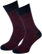 Marcmarcs Chaussettes RED NEW YORK en rouge