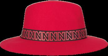Nikkie Chapeau N LOGO  HAT en rouge