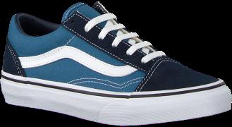 Vans Baskets UY OLD SKOOL NAVY/TRUE WITH en bleu