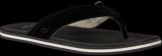 Black UGG shoe BEACH FLIP