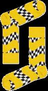 Happy Socks Chaussettes RACE SOCK en blanc