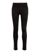 NEW LOOK, Heren Jeans 'RPASO 06.04.18 BLACK SKINNY WITH SIDE TAPE', bl...