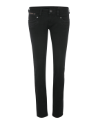 Herrlicher Jean 'Piper Slim Denim Black Stretch'  noir denim